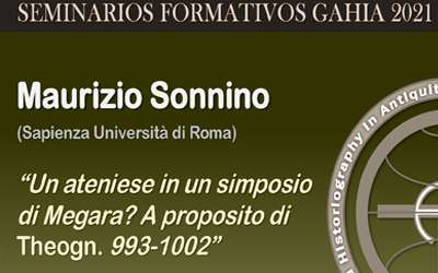 Seminarios de GAHIA 2021 – Maurizio Sonnino